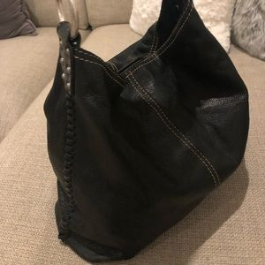 Lucky Brand HoBo Black Leather tote